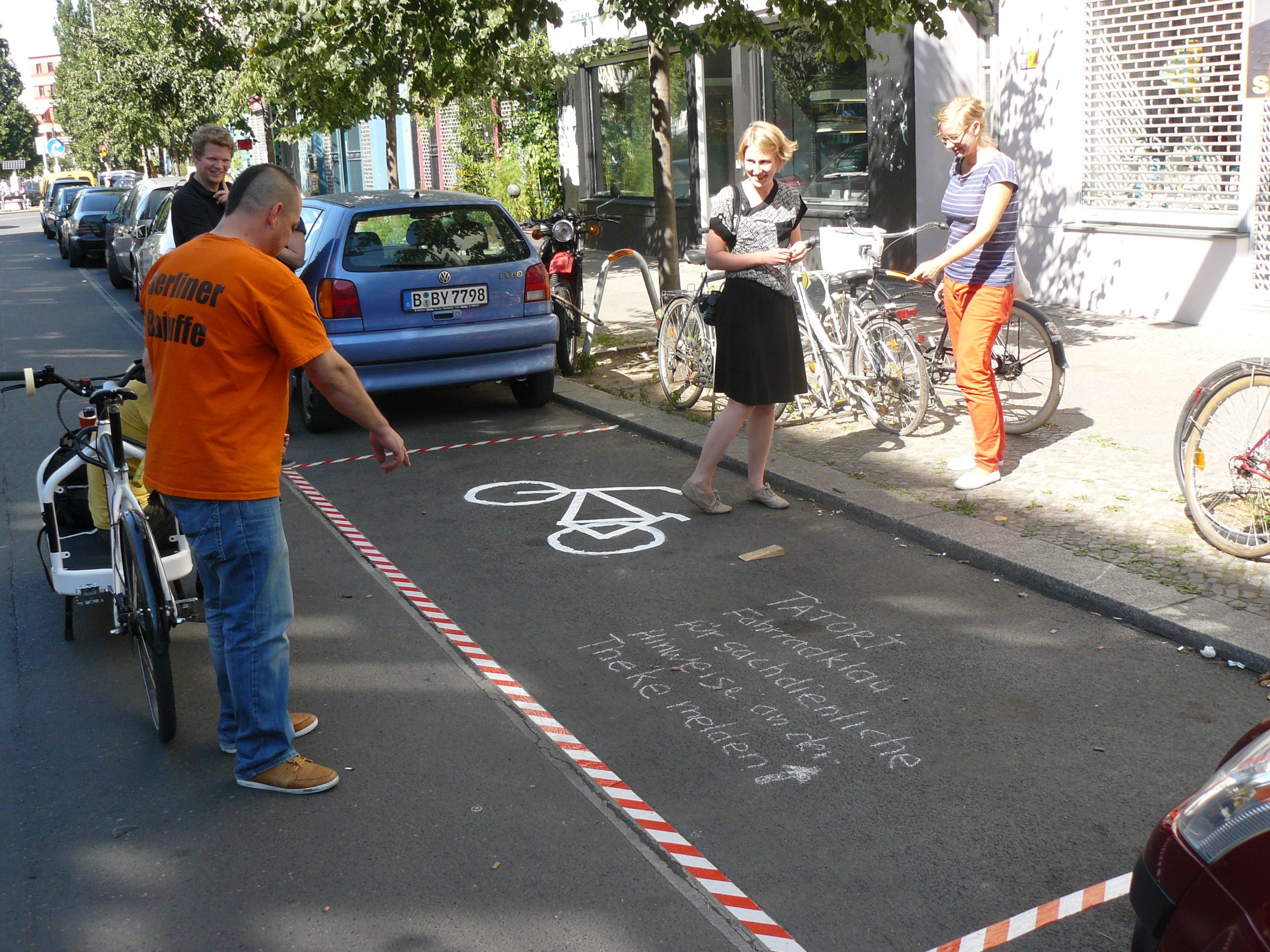 "CHA Hack - ""Crime Scene"" Display 1 - pic by Lars Zimmermann"