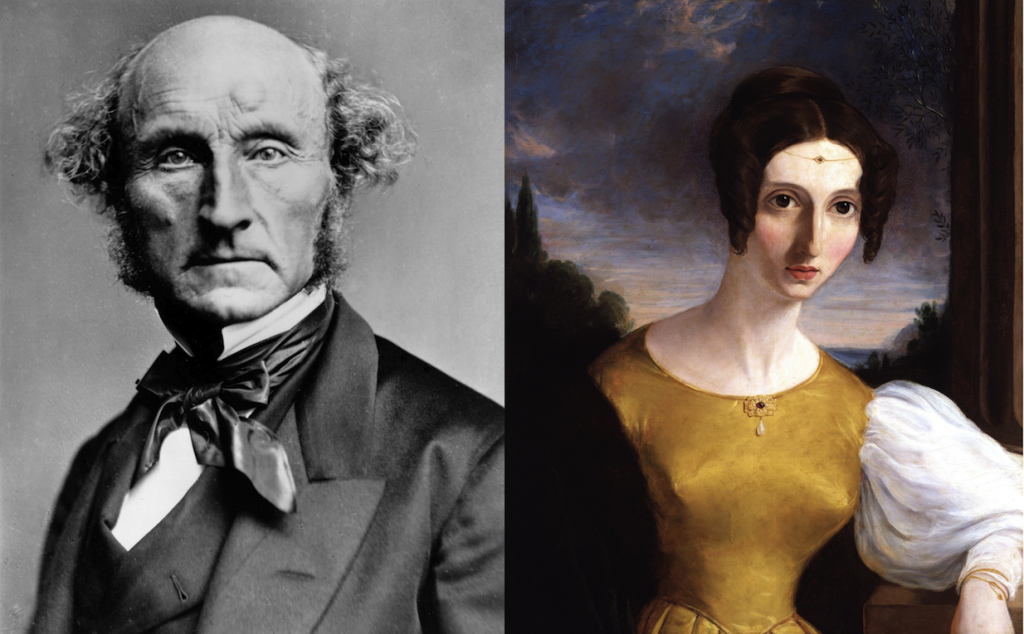 John_Stuart_Mill_&_Harriet_Mill_-_public domain