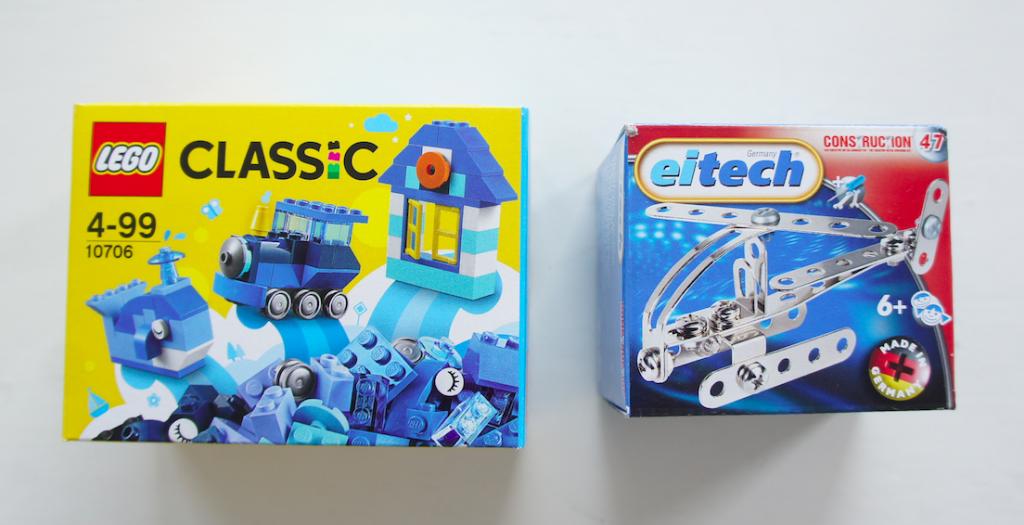 Lego Eitech Verpackungen mars Mobil