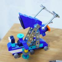 Lego Meccano Hybrids - Mars Mobile Portrait