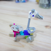 Lego Meccano Hybrids - Scorpion Portrait 2