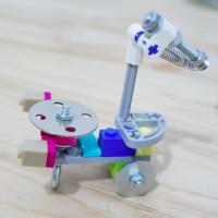 Lego Meccano Hybrids - Scorpion Portrait